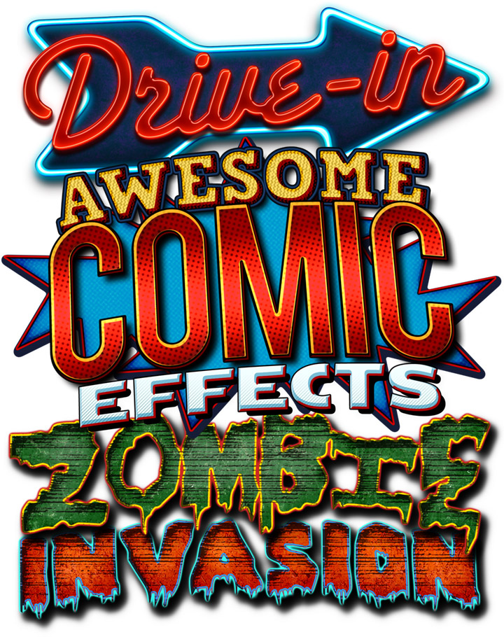 photoshop comic text